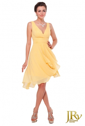 Cocktail dress Angel Yellow from JRV shop collection COCKTAIL DRESSES