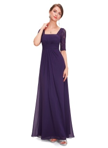 Evening dress Katerina Purple