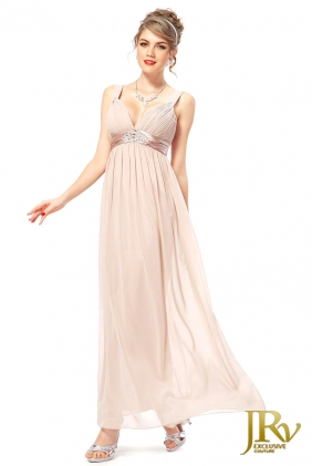 Bridesmaid Dress Chantal Beige from JRV shop collection BRIDESMAID DRESSES