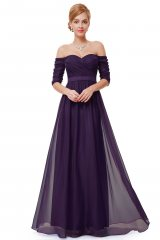 Prom Dress Ryta Purple - online fashion store