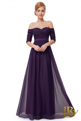 Prom Dress Ryta Purple from JRV shop collection PROM DRESSES