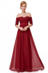 Prom Dress Ryta Red - online fashion store