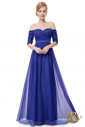 Prom Dress Ryta Blue from JRV shop collection PROM DRESSES