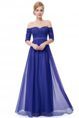 Prom Dress Ryta Blue - online fashion store