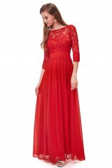 Evening dress Yvonne Red - online fashion store