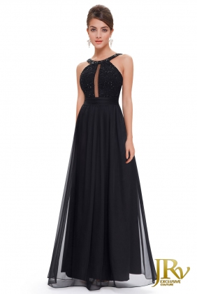 Occasion Dress Attya Black from JRV shop collection OCCASION DRESSES