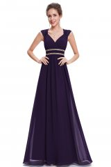 Bridesmaid Dress Rachella Purple - online fashion store