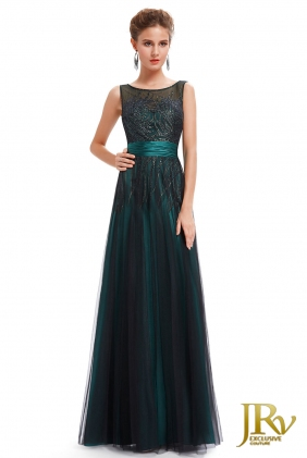 Occasion Dress Celia Green from JRV shop collection OCCASION DRESSES