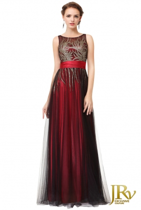 Occasion Dress Celia Red from JRV shop collection OCCASION DRESSES