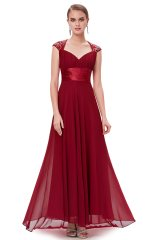 Prom Dress Sweet Dream Burgundy - online fashion store