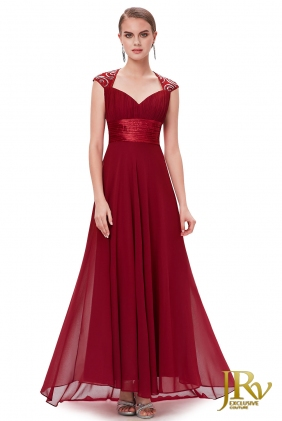 Prom Dress Sweet Dream Burgundy from JRV shop collection PROM DRESSES
