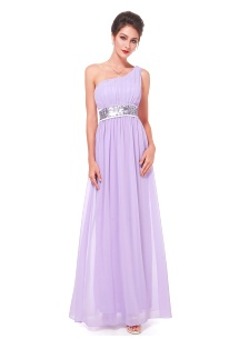 Bridesmaid Dress Delia Light Purple