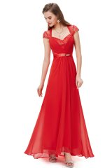 Occasion Dress Kristin Red - online fashion store