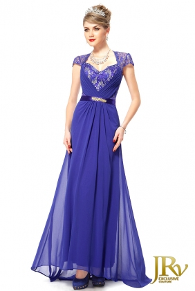 Occasion Dress Kristin Blue from JRV shop collection OCCASION DRESSES