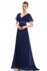 Prom Dress Juliette Dark Blue - online fashion store