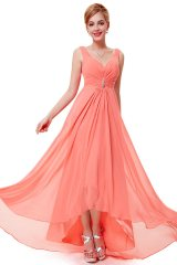 Prom Dress Angelique Coral - online fashion store