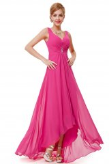Prom Dress Angelique Hot Pink - online fashion store