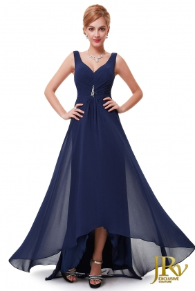 Prom Dress Angelique Dark Blue from JRV shop collection PROM DRESSES