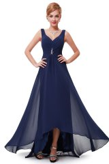 Prom Dress Angelique Dark Blue - online fashion store