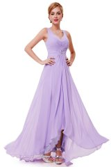 Prom Dress Angelique Light Purple - online fashion store