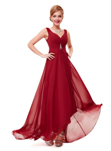 Prom Dress Angelique Red