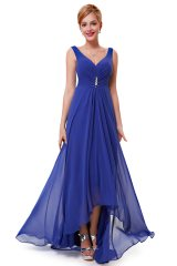 Prom Dress Angelique Royal Blue - online fashion store