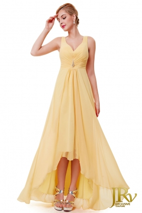 Prom Dress Angelique Yellow from JRV shop collection PROM DRESSES