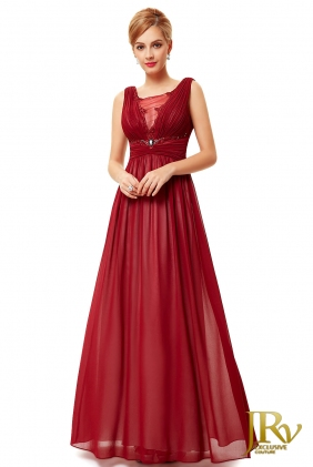 Evening dress Amanda Red from JRV shop collection EVENING DRESSES