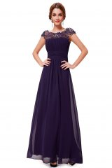 Evening dress Wendy Purple - online fashion store